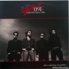 Discos de vinilo: 091. DOCE CANCIONES SIN PIEDAD. ZAFIRO-SERDISCO, ESP. 1989 LP + ENCARTE/ COMO NUEVO. Lote 88926176