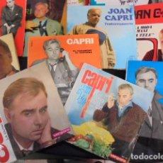 Discos de vinilo: SUPER LOTE JOAN CAPRI - 9 SINGLES ORIGINALES - HUMOR - ENVIO GRATIS . Lote 88935952