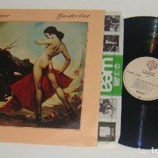 Discos de vinilo: LP - RY COODER - BORDERLINE - RY COODER. Lote 88940964