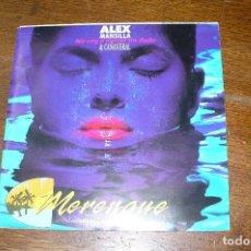 Discos de vinilo: ALEX MANSILLA & CAÑAVERAL / NO VOY A MOVER UN DEDO, MERENGUE / WEA PROMOCIONAL, 1991.. Lote 88943940