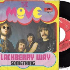 Discos de vinilo: MOVE, THE: BLACKBERRY WAY / SOMETHING. Lote 88948112