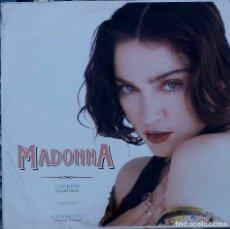 Discos de vinilo: MADONNA. CHERISH. MAXI SINGLE. 3 TEMAS FRANCIA.. Lote 88972656