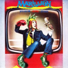 Discos de vinilo: MARILLION - PUNCH AND JUDY + MARKET SQUARE HEROES + THREE BOATS DOWN FROM THE CANDY SINGLE PROMO . Lote 88974980