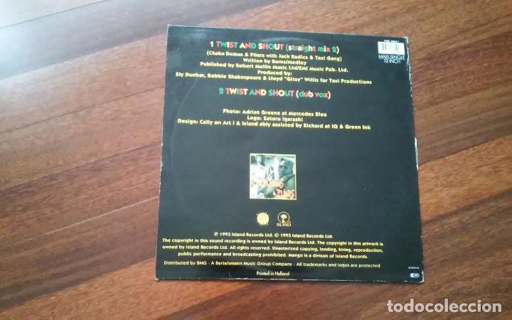 Discos de vinilo: chaka demus & pliers-twist and shout.maxi - Foto 2 - 88975928