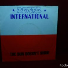Discos de vinilo: BEATS INTERNATIONAL / THE SUN DOESN'T SHINE / WAKE THE DEAD / GOI DISCS,1991, ALEMANIA.. Lote 88985692