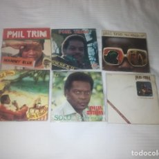 Discos de vinilo: PHIL TRIM ( POP TOPS ) LOTE 6 SINGLE 45 RPM // EDITADOS ESPAÑA SPAIN SPANISH. Lote 88996428