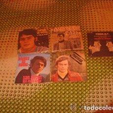 Discos de vinilo: LOTE 5 SINGLES 45 RPM / ANDRES DO BARRO // EDITADO POR RCA. Lote 89003120