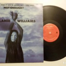 Discos de vinilo: MELANIE WILLIAMS ‎- NOT ENOUGH? . Lote 89014444