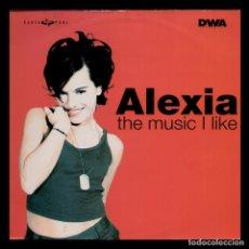 Discos de vinilo: ALEXIA - THE MUSIC I LIKE - SPAIN MAXI SINGLE DANCE POOL 1998 - MAXISINGLE 33 RPM. Lote 89019464