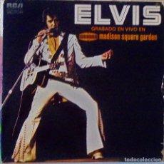 Discos de vinilo: ELVIS PRESLEY GRABADO EN VIVO EN MADISON SQUARE GARDEN. Lote 76222435