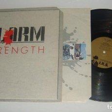 Discos de vinilo: LP - THE ALARM - STRENGTH - MADE IN USA 1985 - ALARM. Lote 89048348
