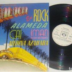 Discos de vinilo: LP - ANDALUCIA EN ROCK - PROMOCIONAL - MEDINA AZAHARA,CAI,ALAMEDA,IMAN CALIFATO INDEPENDIENTE. Lote 89052476