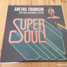 Discos de vinilo: ARETHA FRANKLIN - SUS MAS GRANDES EXITOS . Lote 89073496