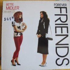 Discos de vinilo: LP - FOREVER FRIENDS - BSO. (VARIOS, VER FOTO ADJUNTA) (GERMANY, ATLANTIC RECORDS 1988). Lote 89074372