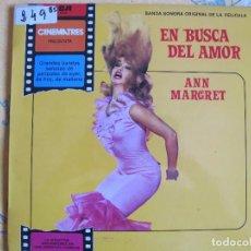 Discos de vinilo: LP - EN BUSCA DEL AMOR - ANN MARGRET-ORQUESTA DIRIGIDA POR LIONEL NEWMAN. Lote 89077988