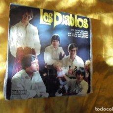Discos de vinilo: LOS DIABLOS. UN RAYO DE SOL + 3. EP. ORLADOR 1970. IMPECABLE. Lote 89088580