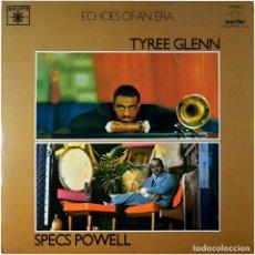 Discos de vinilo: TYREE GLENN / SPECS POWELL – TYREE GLENN AT THE ROUNDTABLE / MOVIN'IN - 2 LP SPAIN 1981 - ROULETTE. Lote 89105152