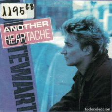 Disques de vinyle: ROD STEWART - ANOTHER HEARTACHE / YOU'RE IN MY HEART (SINGLE PROMO ESPAÑOL, WB 1986). Lote 89124168