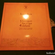 Discos de vinilo: XESCO BOIX - 5 FORMIGUES FAN + QUE 4 ELEFANTS (CANÇONS I CONTES PER A LA MAINADA...) ZAFIRO/PU PUT. Lote 89153832