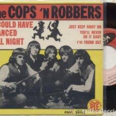 Discos de vinilo: THE COPS N ROBBERS / I COULD HAVE DANCED / EP 45 RPM / EDITADO POR VOGUE. Lote 89155820