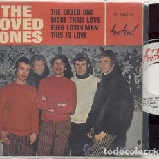 Discos de vinilo: THE LOVED ONES / THE LOVED ONE / EP 45 RPM / EDITADO POR FESTIVAL. Lote 89156320