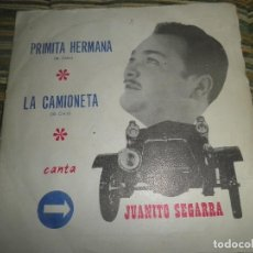 Discos de vinilo: JUANTIO SEGARRA - PRIMITA HERMANA SINGLE - ORIGINAL ESPAÑOL - SAN DIEGO 1972 - MONO -PROMOCIONAL. Lote 89170996