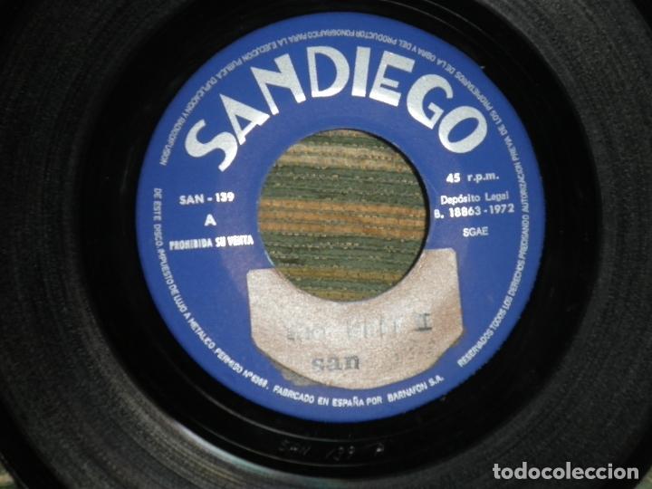 Discos de vinilo: JUANTIO SEGARRA - PRIMITA HERMANA SINGLE - ORIGINAL ESPAÑOL - SAN DIEGO 1972 - MONO -PROMOCIONAL - Foto 4 - 89170996