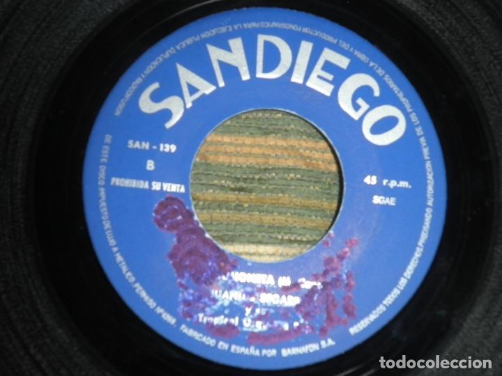 Discos de vinilo: JUANTIO SEGARRA - PRIMITA HERMANA SINGLE - ORIGINAL ESPAÑOL - SAN DIEGO 1972 - MONO -PROMOCIONAL - Foto 5 - 89170996