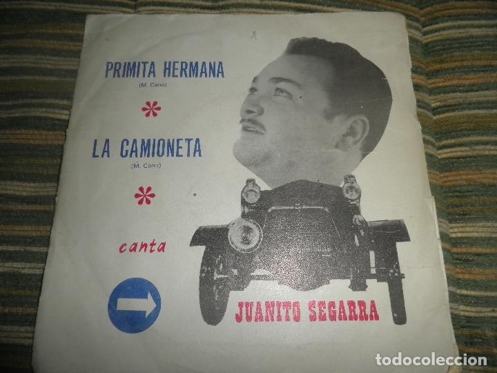 Discos de vinilo: JUANTIO SEGARRA - PRIMITA HERMANA SINGLE - ORIGINAL ESPAÑOL - SAN DIEGO 1972 - MONO -PROMOCIONAL - Foto 7 - 89170996