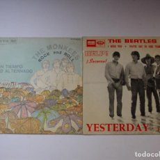Discos de vinilo: BEATLES YESTERDAY STONES SATISFACTION MONKEES SIN TIEMPO BEACH BOYS GOOD VIBRATIONS JOHN CAMPBELL. Lote 89177988