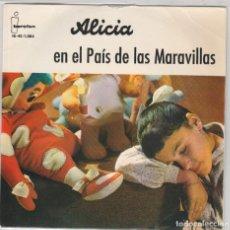 Discos de vinilo: ALICIA EN EL PAIS DE LAS MARAVILLAS (EP 1961) TEATRO INVISIBLE DE RADIO NACIONAL DE BARCELONA. Lote 89192896