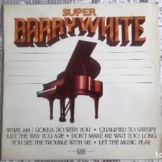 Discos de vinilo: DISCO SUPER BARRY WHITE - GRAMUSIC. Lote 89195912