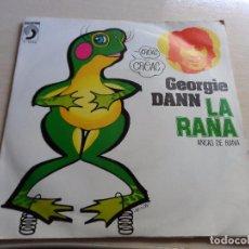 Discos de vinilo: SINGLE GEORGIE DANN LA RANA. Lote 89199656