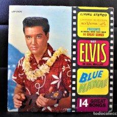 Discos de vinilo: ELVIS PRESLEY / LP / BLUE HAWAII- LSP -2246 - 1ªED.USA 1961 / DISCO VINILO 33 RPM. Lote 89200224