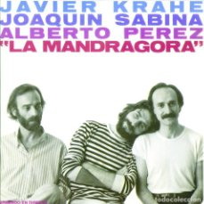 Discos de vinilo: LP JAVIER KRAHE JOAQUIN SABINA ALBERTO PEREZ LA MANDRAGORA VINILO NUEVO Y PRECINTADO. Lote 94794288
