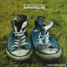 Discos de vinilo: LP EL CANTO DEL LOCO ZAPATILLAS VINILO VERDE. Lote 254700895
