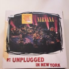 Discos de vinilo: C NIRVANA - MTV UNPLUGGED IN NEW YORK - 1ERA EDICION VINILO BLANCO 1994 CON INSERTO. Lote 150843682