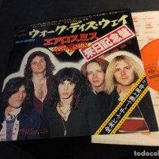 Discos de vinilo: AEROSMITH (WALK THIS WAY / NOBODY'S FAULT) SINGLE JAPAN (EPI8). Lote 89217808