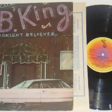 Discos de vinilo: LP - B.B. KING - MIDNIGHT BELIEVER - MADE IN UK 1978 - B.B. KING - BB KING. Lote 89233884