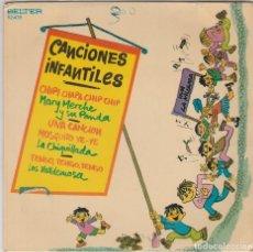 Discos de vinilo: CANCIONES INFANTILES (VARIOS) MARY MERCHE - LA CHIQUILLADA - LO VALLDEMOSA (EP 1973). Lote 89259896