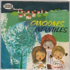 Discos de vinilo: CANCIONES INFANTILES (CANCIONES POPULARES) EP 1961. Lote 89260620