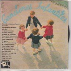 Discos de vinilo: CANCIONES INFANTILES (EP 1964) CONSERVA EL TRIANGULO. Lote 89260748
