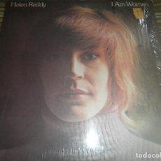 Discos de vinilo: HELEN REDDY - I AM WOMAN LP - ORIGINAL U.S.A. - CAPITOL RECORDS 1972 - ST-11068 -. Lote 89260948