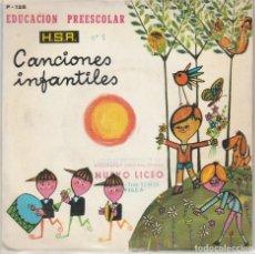 Discos de vinilo: CANCIONES INFANTILES (EDUCACION PREESCOLAR Nº 1) MARIA ELENA (EP 1971). Lote 89261016