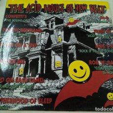 Discos de vinilo: THE ACID HOUSE OF NEW BEAT-LP-. Lote 89261792