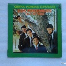 Discos de vinilo: LOS PEKENIKES - HILO DE SEDA LP 1978. Lote 89274340