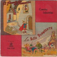 Discos de vinilo: L ABELLA DURMIENTE DEL BOSQUE / EL FLAUTISTA DE HAMELIN (J.CASAS AUGE) EP 1954 VINILO VERDE. Lote 89283772