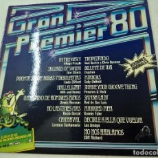 Discos de vinilo: GRAN PREMIER 80-LP-VILLAGE PEOPLE-DIRE STRAITS-ROCIO DURCAL-N. Lote 179386638