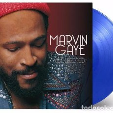 Discos de vinilo: MARVIN GAYE COLLECTED LTD. VINILO AZUL 180G 2LP MUSIC ON VINYL PRECINTADO. Lote 89296864