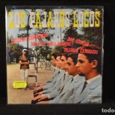 Discos de vinilo: LOS PAJAROS LOCOS - SERAFINO CAMPANARO +3 - EP. Lote 89302500